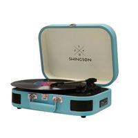 Gira-Discos Swingson ST226 Bluetooth - Azul