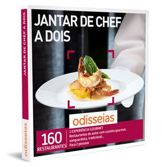 Odisseias 2020 - Jantar de Chef a Dois