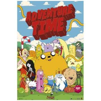 Poster Adventure Time Personajes
