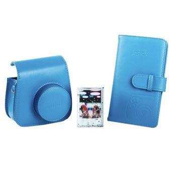 Kit Acessórios Fuji para Instax Mini 9 - Azul-Colbalto
