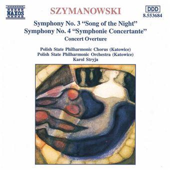 Symphony Nos. 3 & 4 - CD