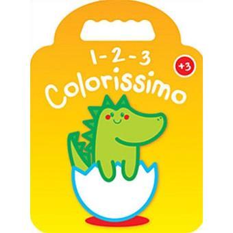 1-2-3 Colorissimo - Dinossauro + 3 Anos