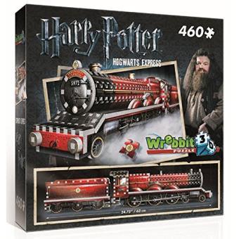 Puzzle 3D Harry Potter Hogwarts Express 460 Peças - Wrebbit