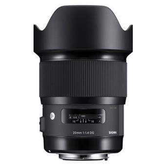 Objetiva Sigma 20mm f/1.4 (A) DG HSM - Canon