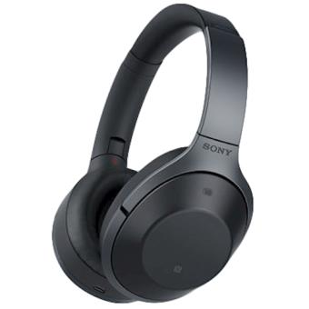 Auscultadores Sony MDR-1000X Com fios/sem fios Preto