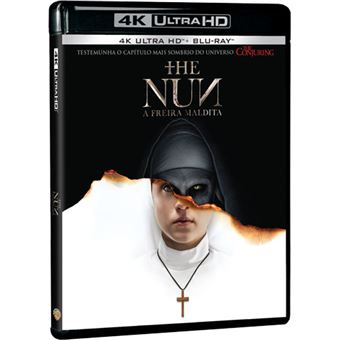 The Nun: A Freira Maldita - 4K Ultra HD + Blu-ray