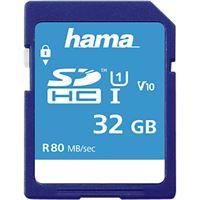 Cartão Memória SDHC Hama Classe 10 - 32GB
