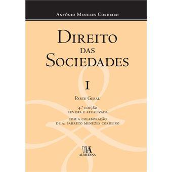 Direito das Sociedades Volume I