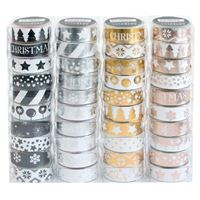 Fita-Cola Decorativa Washi Tape Christmas - Envio Aleatório