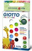 Plasticina Giotto Patplume - 8 Cores