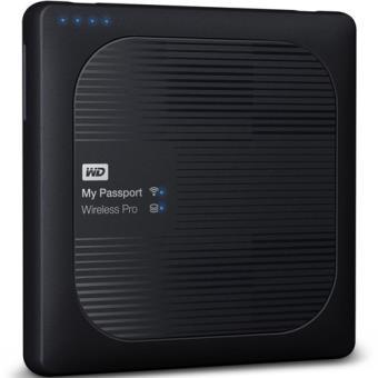Disco Western Digital My Passport Wireless Pro - 2TB - Preto