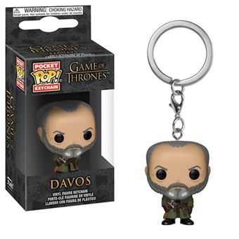 Funko Pop! Porta-Chaves Game of Thrones: Davos