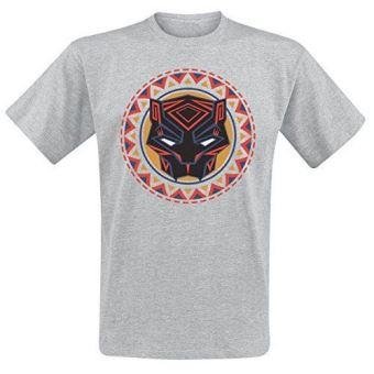 T-Shirt Black Panther Logo - Tamanho L