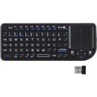 Mini Teclado Sem Fio Ewent EW3140 para Smart TV - Preto