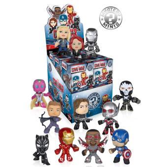 Funko Marvel Mystery Minis Captain America Set (sortido)
