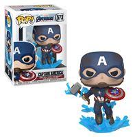 Funko Pop! Avengers Endgame: Captain America with Broken Shield - 573