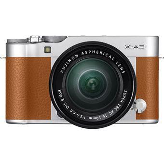 Fujifilm X-A3 + XC 16-50mm F3.5-5.6 OIS - Camel