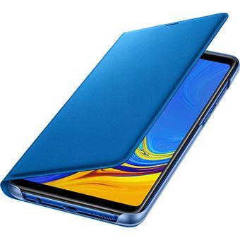 Capa Samsung Flip Wallet para Galaxy A9 - Azul