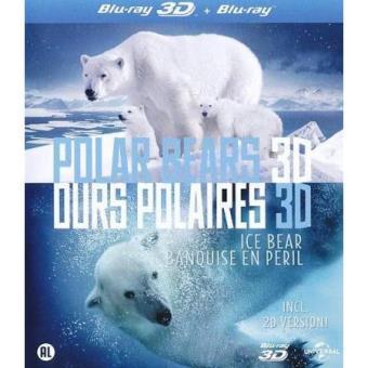 Polar Bears 3D: Ice Bear (Blu-ray 3D + 2D)