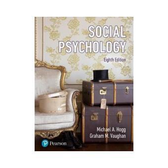 Social psychology hogg michael compre livros na fnac social psychology fandeluxe Gallery