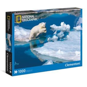Puzzle Ypung Male Polar Bear (1000 Peças)
