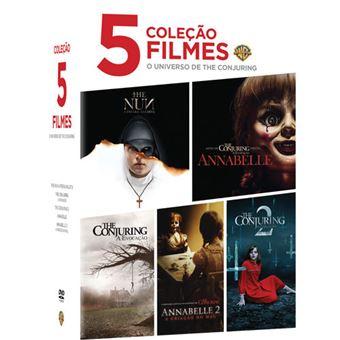 Pack Universo The Conjuring - Coleção 5 Filmes - 5DVD