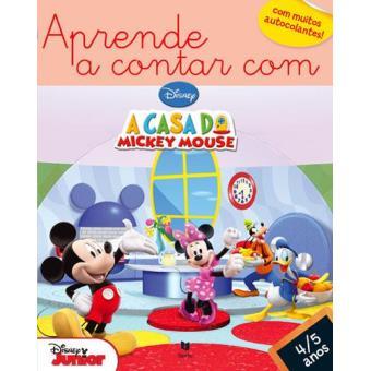 Aprende a Contar com a Casa do Mickey Mouse - 4/5 anos