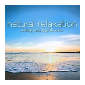 Natural Relaxation: Soothing Music & Gentle Waves - CD
