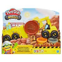 Play-Doh Escavadora Camião Carga - Hasbro