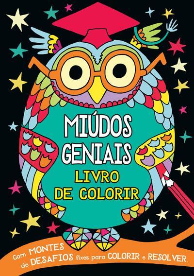 Miúdos Geniais: Livro de Colorir