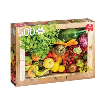 Puzzle Fruit And Vegetable Box - 500 Peças