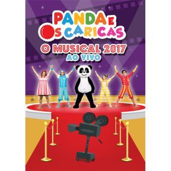 Panda e os Caricas - O Musical 2017 ao Vivo - DVD