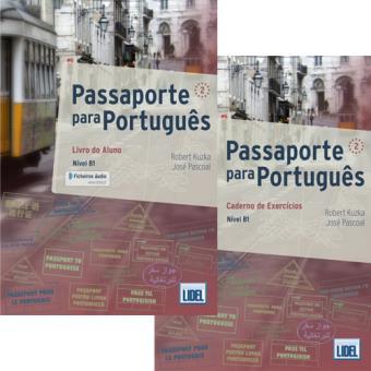 Passaporte Para Português 2: Livro do Aluno + Caderno de Exercícios - QECR Nível B1