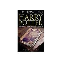 Harry Potter and the Half-Blood Prince (Book 6) - Adult edition