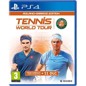 Tennis World Tour: Roland Garros Edition - PS4