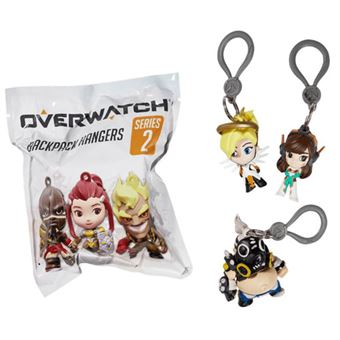 Porta-Chaves Overwatch: Back Pack Hangers Series 2 - Envio Aleatório