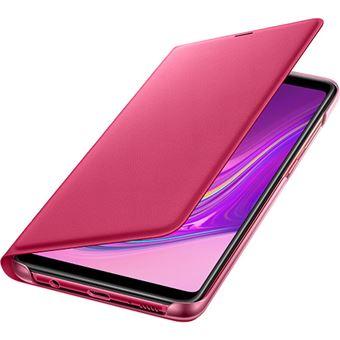 Capa Samsung Flip Wallet para Galaxy A9 - Rosa