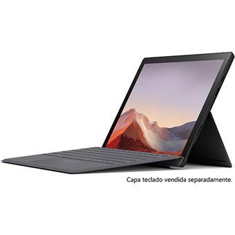 Computador Portátil Microsoft Surface Pro 7 - Preto - Core i7 | 512GB | 16GB