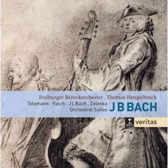 Bach, Telemann, Fasch, Zelenka | Orchestral Suites (2CD)