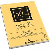 Bloco de Desenho e Ilustração Canson XL Bristol A4 180gr