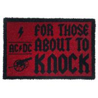 Tapete de Porta AC/DC For Those About to Knock