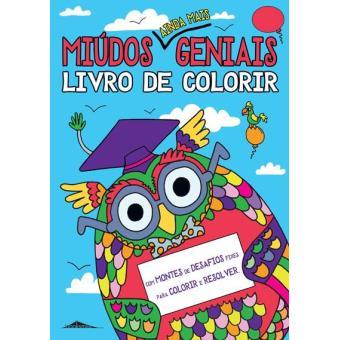 Miúdos Ainda Mais Geniais: Livro de Colorir