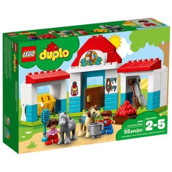 LEGO DUPLO Town 10868 Estábulo dos Póneis da Quinta