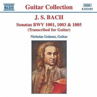Sonatas For Guitar 1-3 - CD