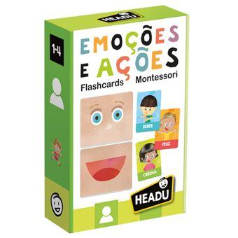 Flashcards Emoções E Ações Montessori