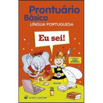 Prontuário Básico da Língua Portuguesa - 1º Ciclo