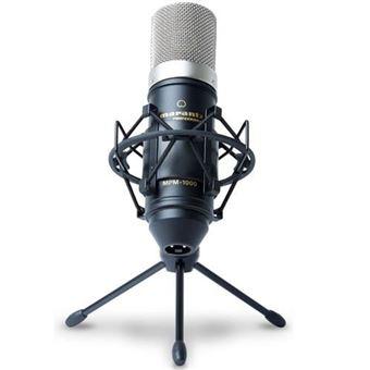 Microfone de Diafragma Largo MPM-1000 com Aranha + Suporte