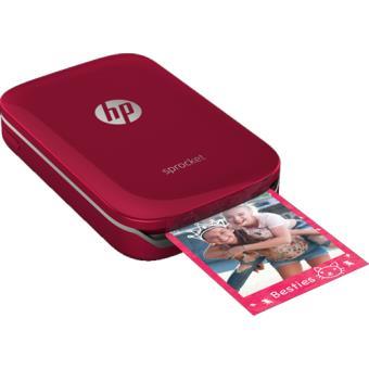 Impressora Fotográfica Portátil HP Sprocket - Vermelho