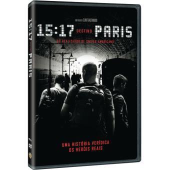 15:17 Destino Paris - DVD