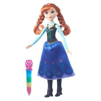 Boneca Frozen Flashes Brilhantes Hasbro - Envio Aleatório